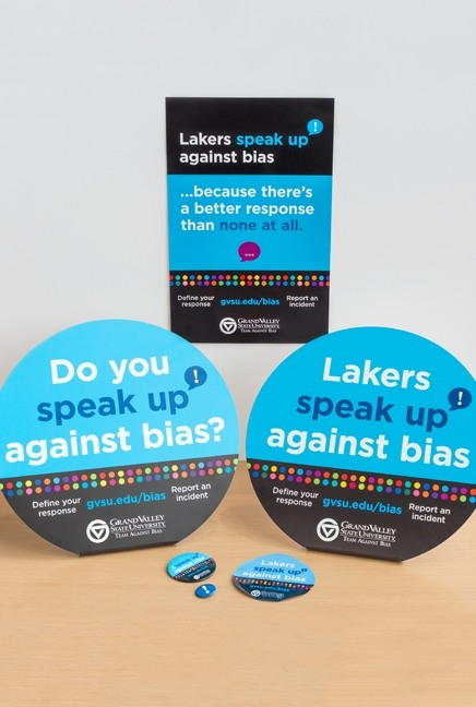 Speak up campaign materials